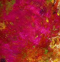 Abstrakter gemalter Fond in Rot