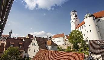 Stadtansicht Dillingen mit Dillinger Schloss