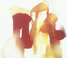 Abstrakter Fond gemalt