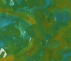 Abstrakter Aquarellfond in grün