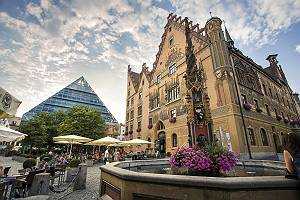 Ulmer Rathauses und Rathausplatzes