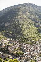 Fotografie des felsigen Tarntales in Südfrankreich