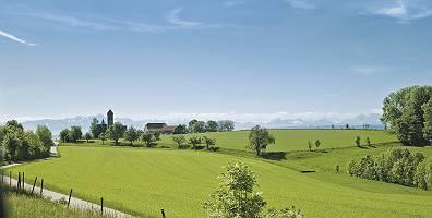 Oberschwäbische Landschaft