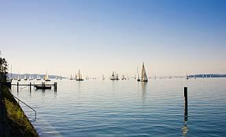 Segelboote auf dem Bodensee