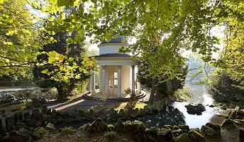 Pavillon im Bergpark Wilhelmshöhe in Kassel