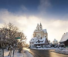 Wallfahrtskirche St. Peter und Paul die Schönste Dorfkirche der