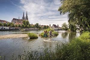 Regensburg Donauerlebnis für Familien