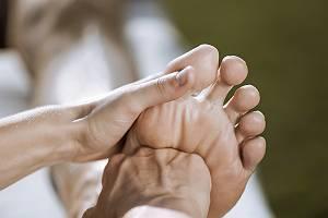 Energetische Fußreflexzonenmassage