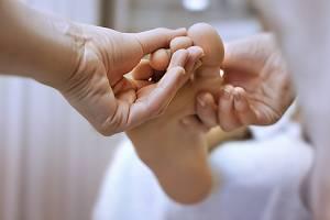 Energetische Fußmassage
