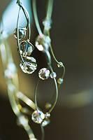 Schöne Halskette mit geschlieffenen Perlen