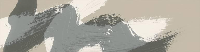 Graue Welle auf weißer Welle