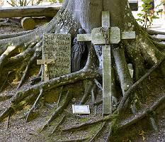 Holzkreuze in Ziemetshausen