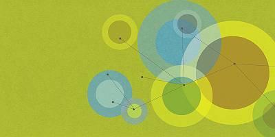 Illustration einer Vernetzung
