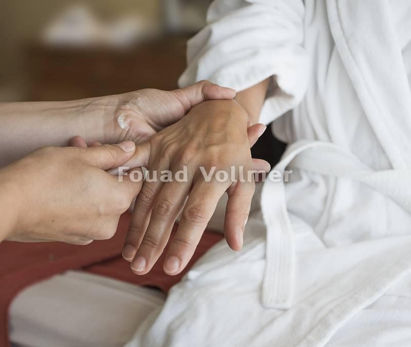 Mobilisierende Handmassage