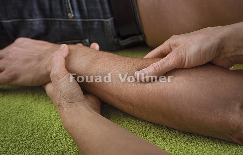 Akupresur Unterarm