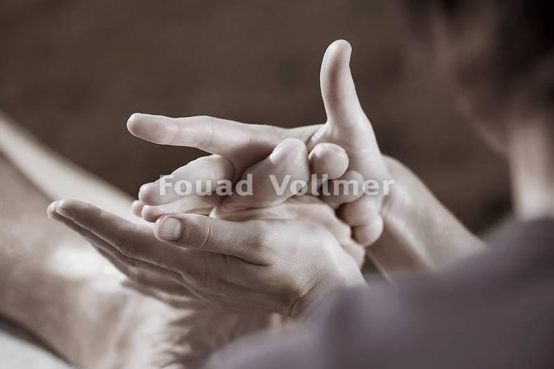Wohltuende Fußreflexzonenmassage