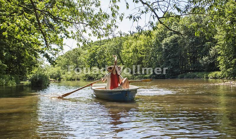 Ruderbootfahrt auf der Lausitze Neiß